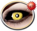 Sclera-Kontaktlinsen Black Yellow